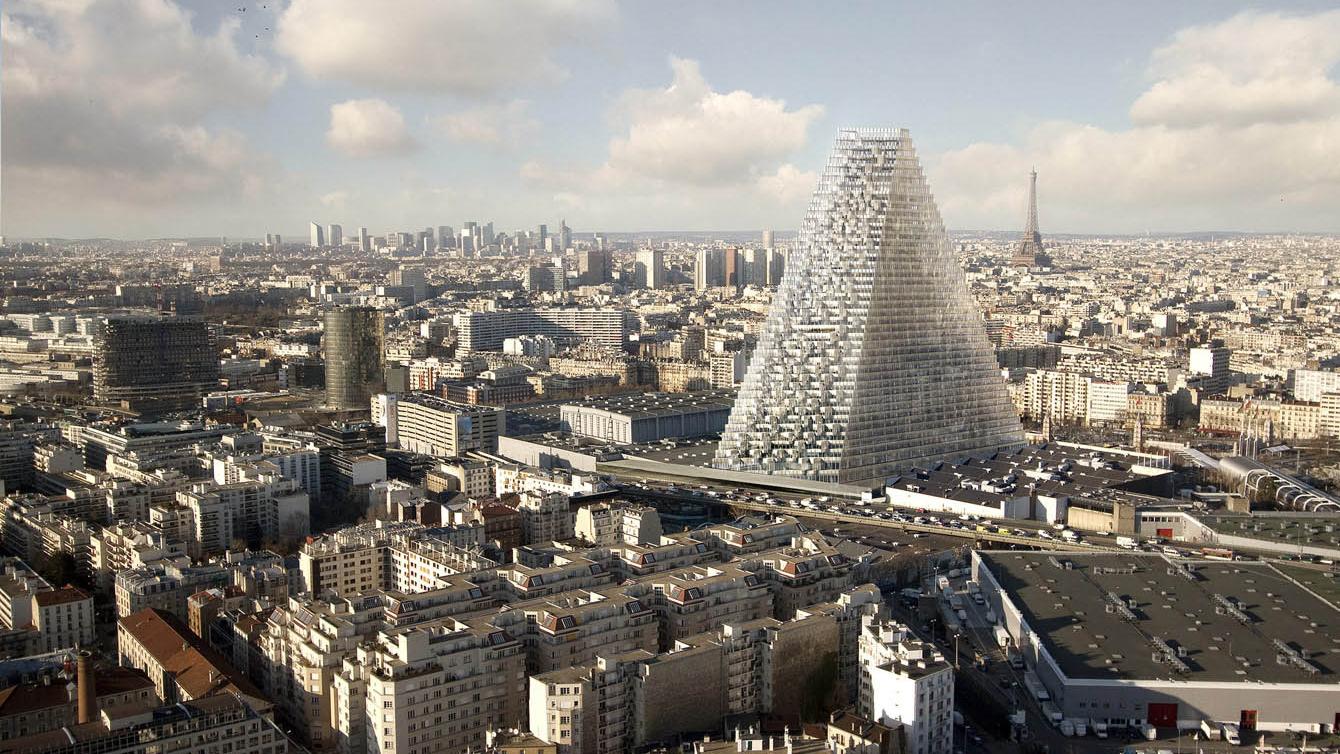 Herzog & de Meuron's Tour Triangle skyscraper