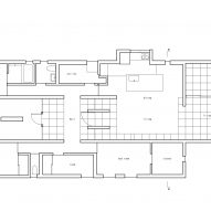 Floor plan of Tranquil House by FORM Kouichi Kimura Architects