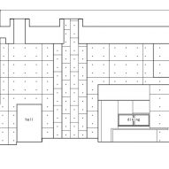 Longitudinal section A-A of Tranquil House by FORM Kouichi Kimura Architects