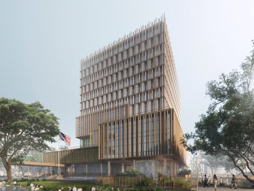 US Embassy New Office Annex in Bangkok by SHoP Architects