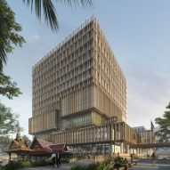 SHoP unveils US Embassy offices for lush site in Bangkok