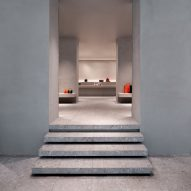 John Pawson completes gallery-style interiors for Milan's Valextra store