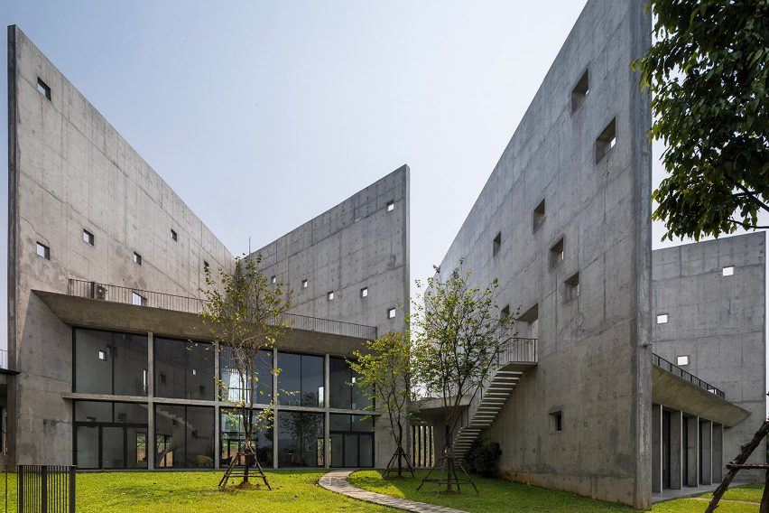 Viettel Offsite Studio by Vo Trong Nghia Architects