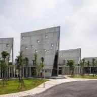 Viettel Offsite Studio by Vo Trong Nghia VTN Architects