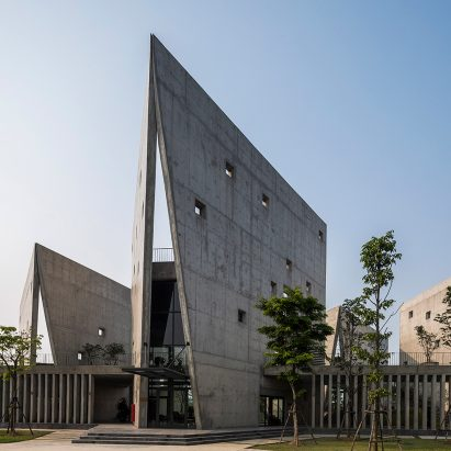 Viettel Offsite Studio by Vo Trong Nghia VTN Architects