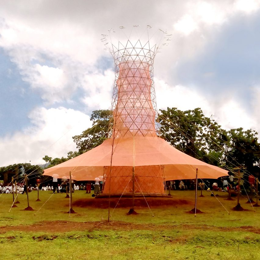 Warka Water Tower by Warka Water Inc