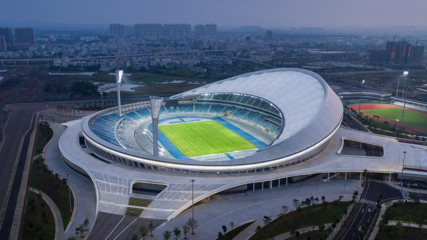 Wuyuanhe Stadium by GMP