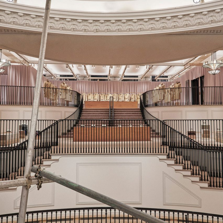 Jobs for interior architects: Retail space designer - beauty at Burberry in London, UK