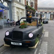 Fatkin, Patrick McEvoy and PARTI create city parklets in central London