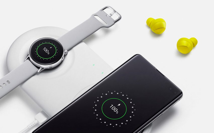 Samsung Galaxy Watch and Buds