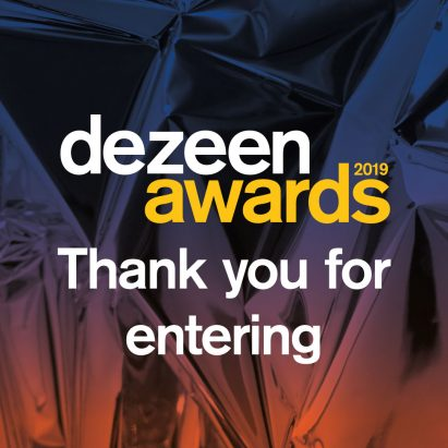 Thank you for entering Dezeen Awards 2019