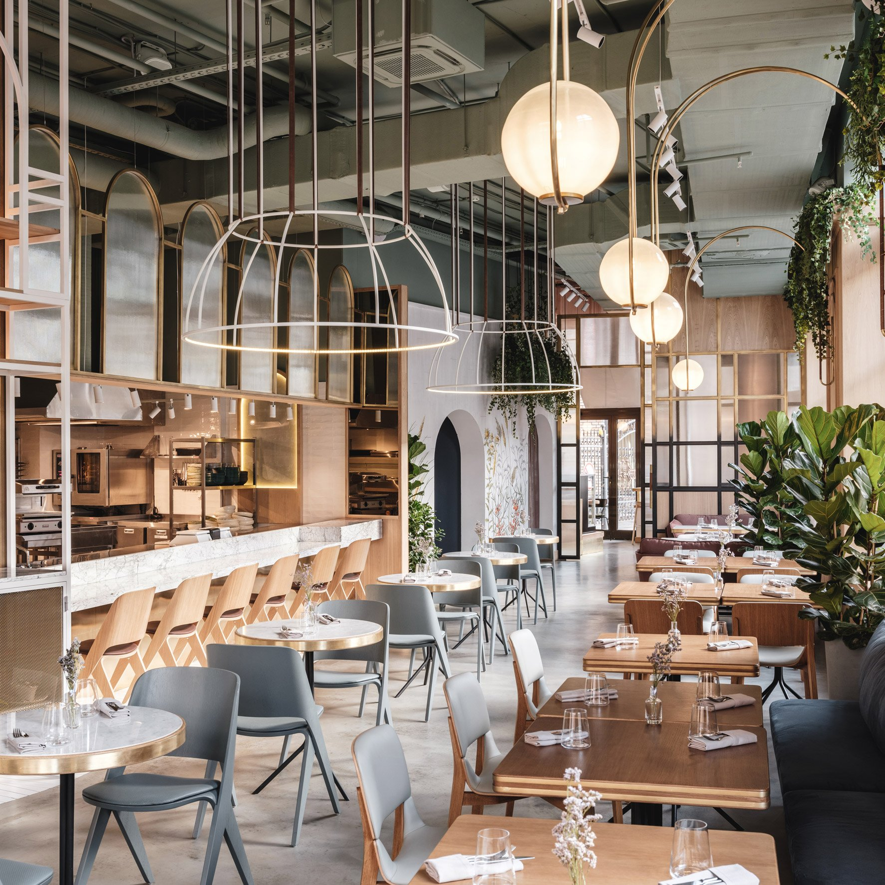 Wes Anderson Films Inform Design Of Moscow Restaurant By