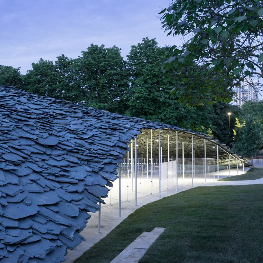 This week, the Serpentine Gallery unveiled a pavilion but lost its CEO