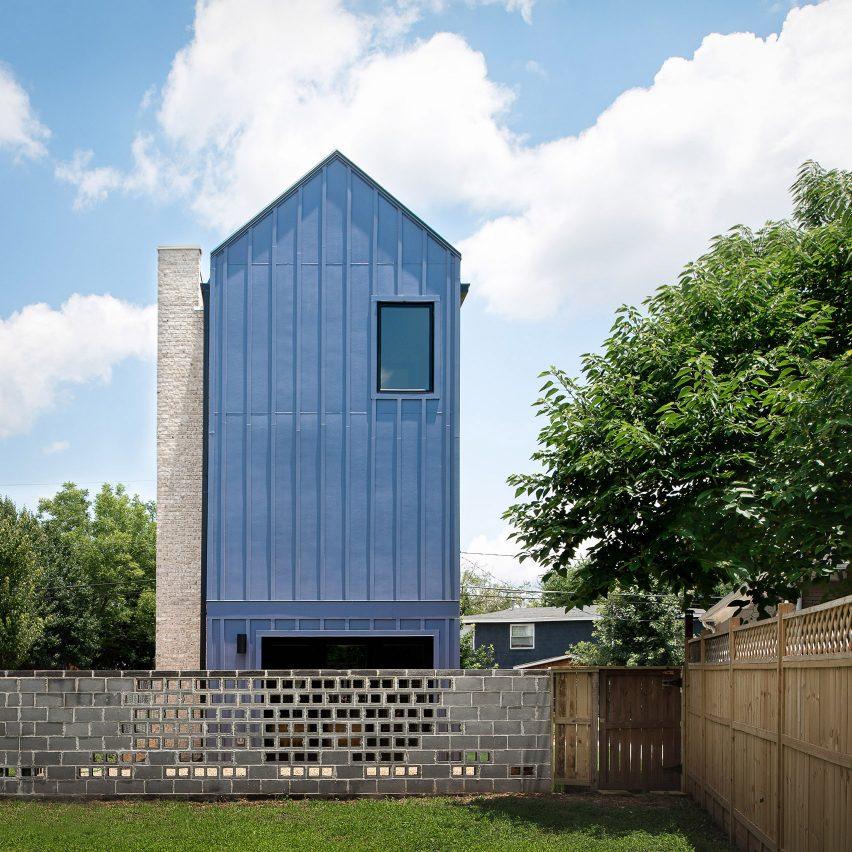Alexander Wu designs himself a house on tiny plot in Atlanta