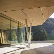 Studio Seilern Architects raises the roof to create Andermatt Concert Hall in the Swiss Alps