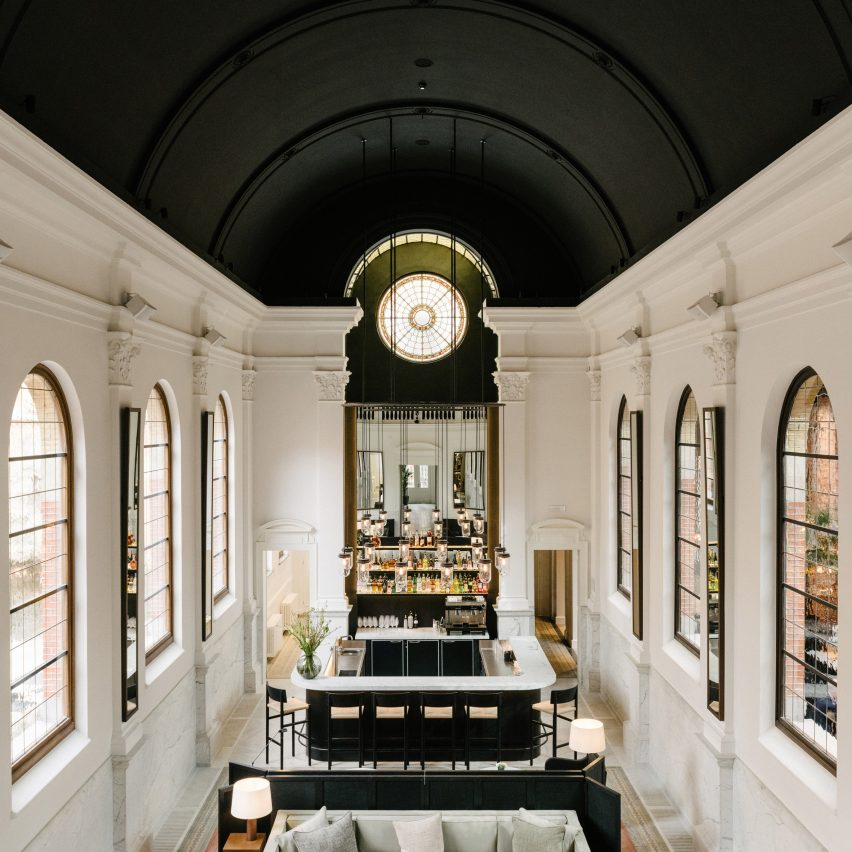 Vincent Van Duysen transforms 19th-century convent into Antwerp's August hotel