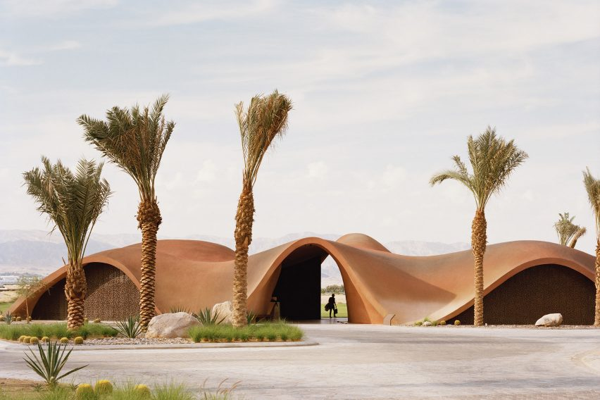 Ayla Oasis Golf Clubhouse and Academy by Oppenheim Architecture
