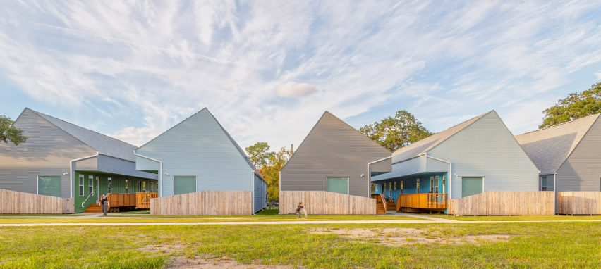 Bastion Community housing complex in New Orleans by Office Of Jonathan Tate