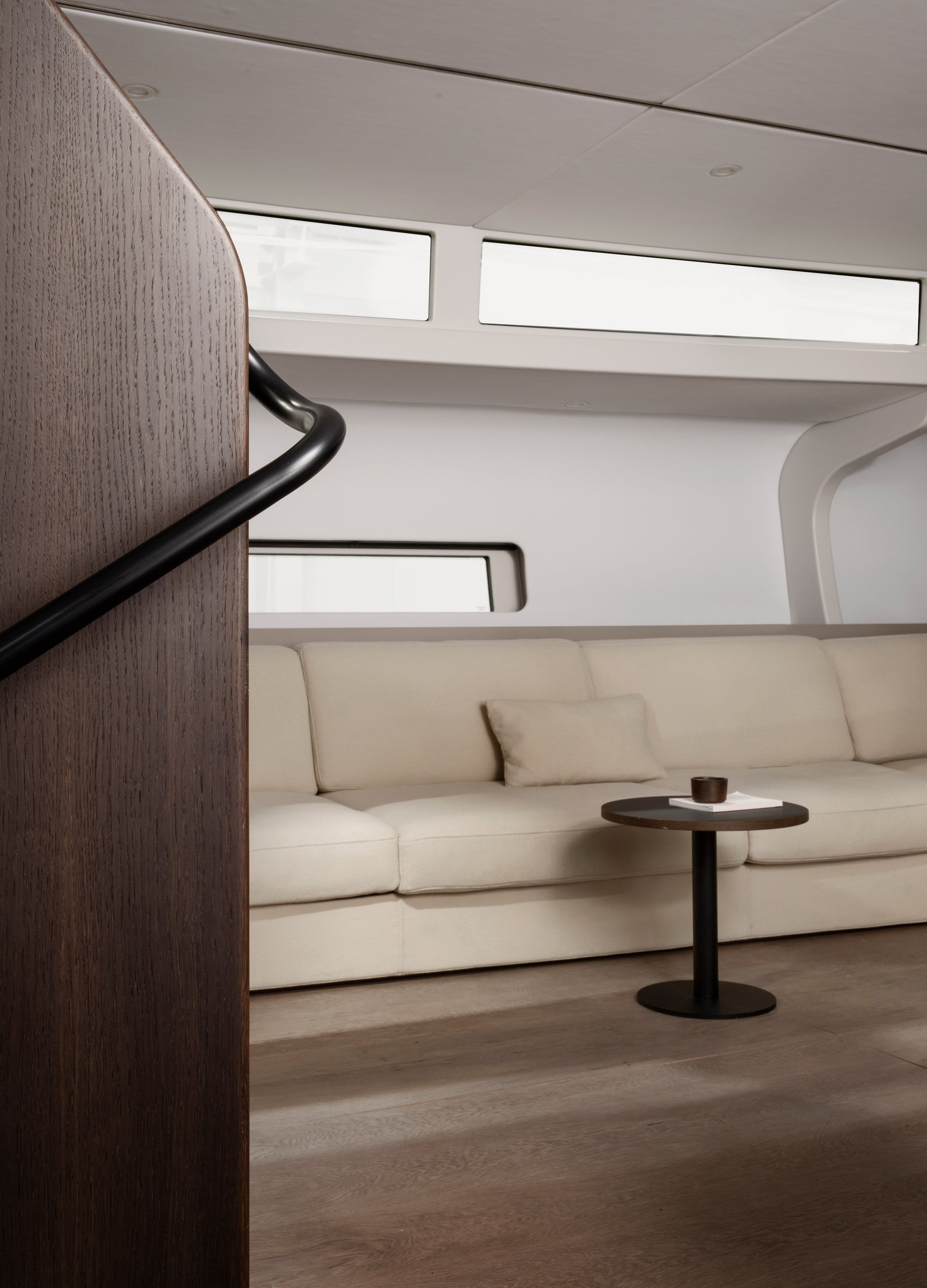 Bella yacht interiors designed by Norm Architects