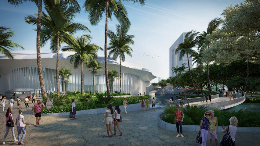 Blaisdell Center masterplan by Snøhetta
