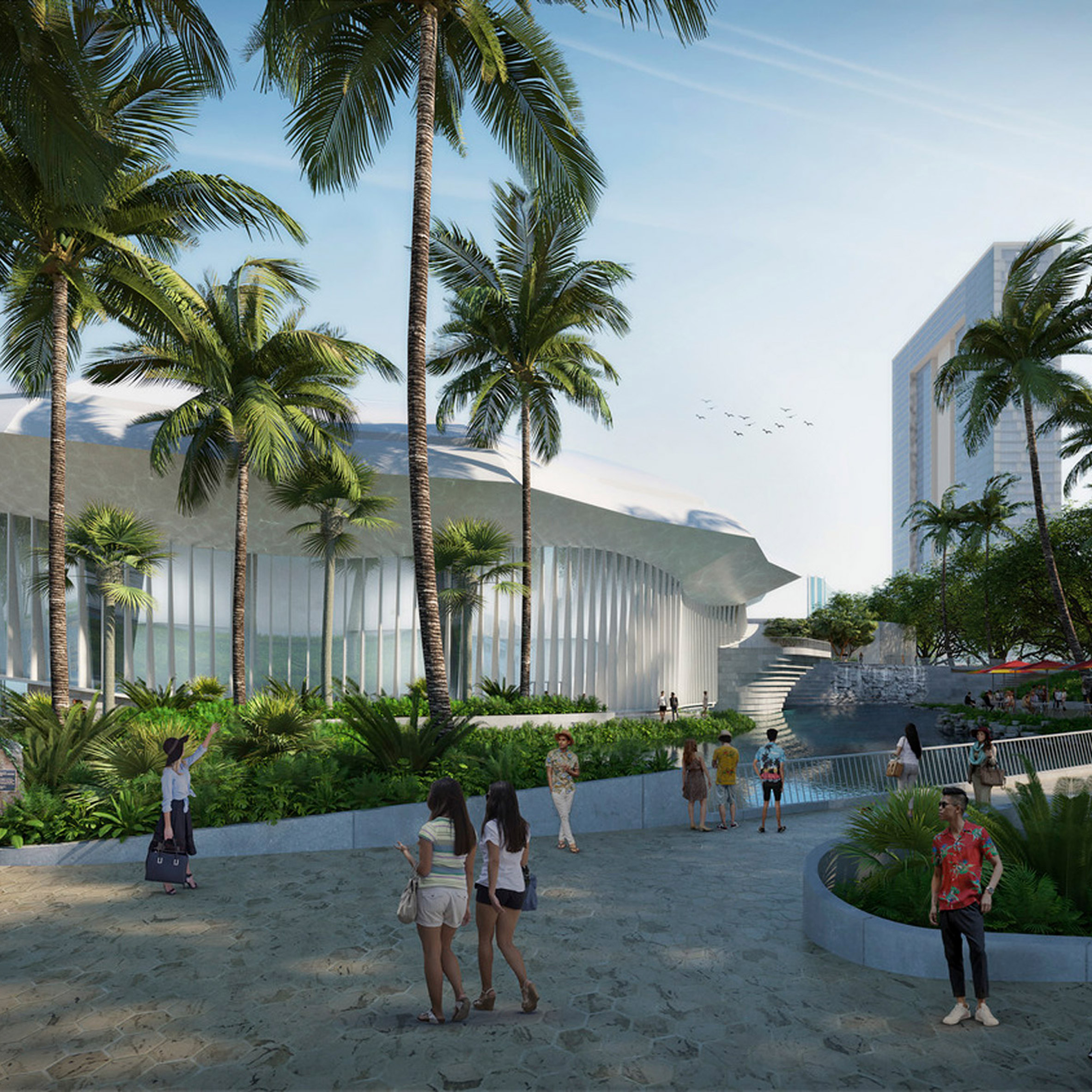 Snøhetta reveals masterplan for 1960s Blaisdell Center in