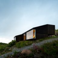 Kappland Arkitekter perches Cabin Stokkøya on rugged landscape of Norwegian island