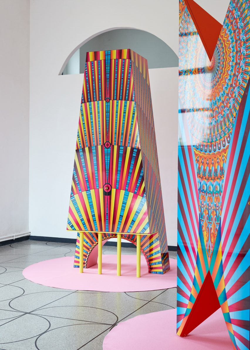 "Adam Nathaniel Furman designs ""clumsy"" furniture for Camp Design Gallery and Abet Laminati"