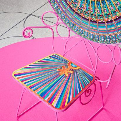 "Adam Nathaniel Furman designs ""clumsy"" furniture for Camp Design Gallery and Abet Laminati"