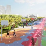 Carlo Ratti imagines how Boulevard Périphérique in Paris will look in 2050