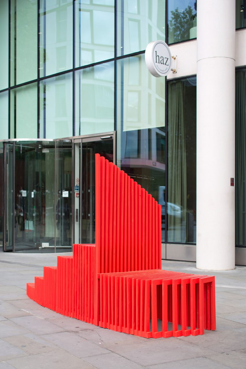 City Benches: Benchtime by Anna Janiak at London Festival of Architecture
