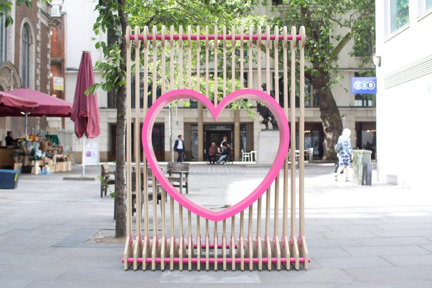City Benches at London Festival of Architecture