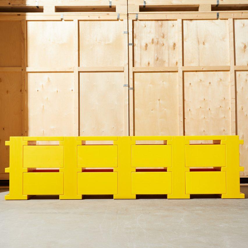 Philippe Malouin office furniture at Design Miami Basel