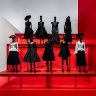OMA uses array of colours and materials for Dior retrospective at Dallas art museum