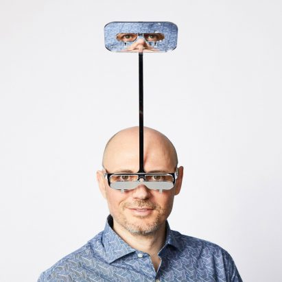 Dominic Wilcox's One Foot Taller periscope glasses grant shorter people a height advantage at gigs