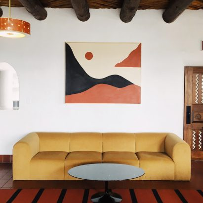 El Rey Court hotel in Santa Fe, New Mexico by Jay Carroll and Jeff Burns