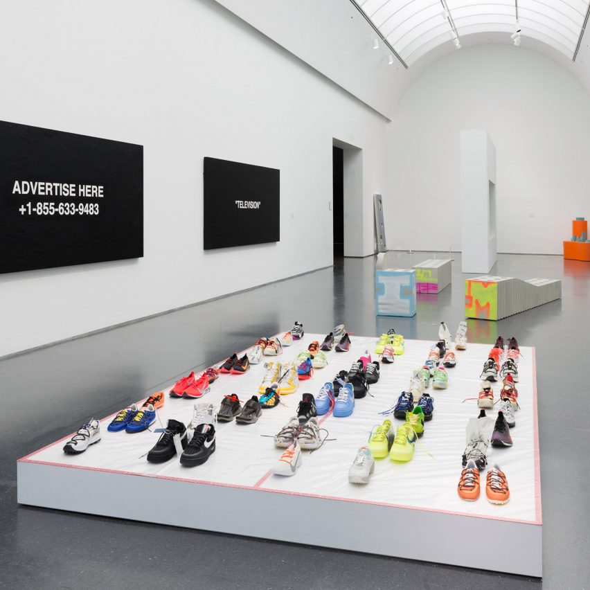 Virgil Abloh's first solo exhibition opens at Museum of Contemporary Art Chicago