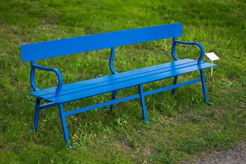 Jasper Morrison curates collection of designer benches for Finnish biennale