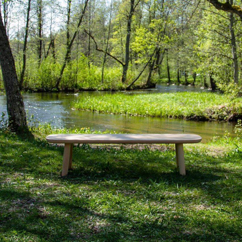 Jasper Morrison curates collection of designer benches for Fiskars Village Biennale