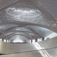 "Softroom creates ""world's-longest"" parametric wall inside Istanbul Airport"