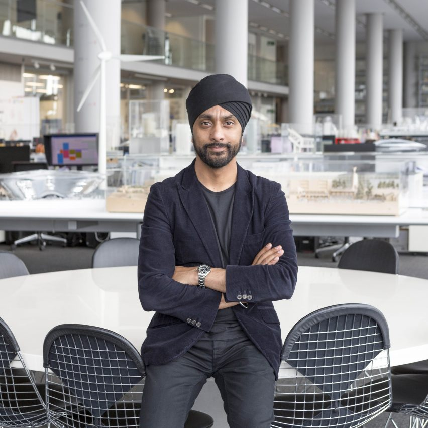 Careers guide: Narinder Sagoo explains how he came to oversee the visual output of Foster + Partners