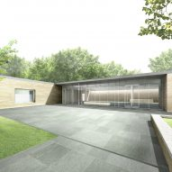 Visitor centre revealed for Frank Lloyd Wright's Oak Park Home and Studio