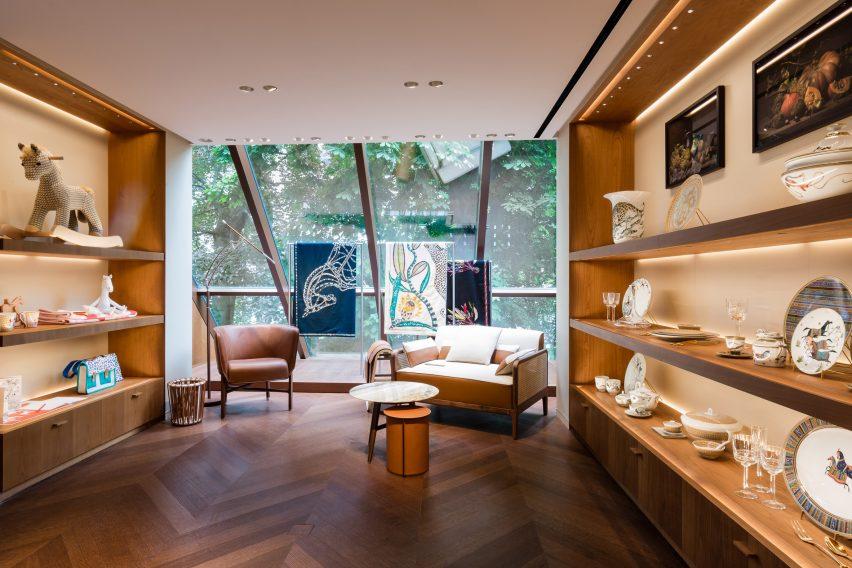 Hermès Amsterdam store in MVRDV's Crystal Houses