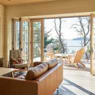 Hillside Sanctuary and guest house by Hoedemaker Pfeiffer in Washington state