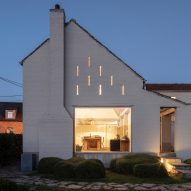 Atelier Vens Vanbelle creates monastic white country house