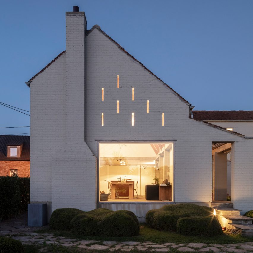 Atelier Vens Vanbelle creates monastic white country house
