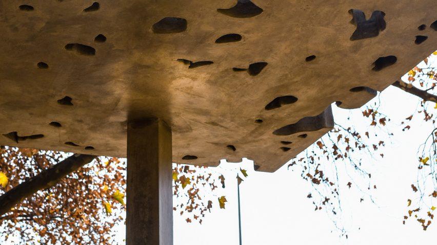 Memorial pavilion for South African trumpeter Hugh Masekela by David Adjaye