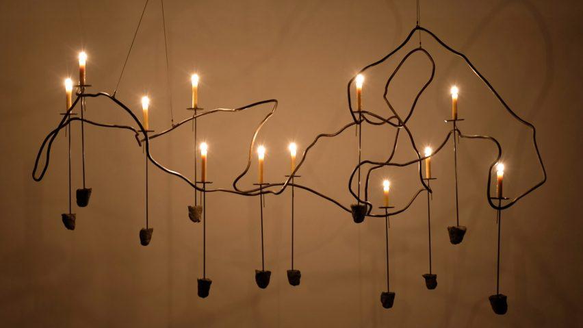 JamesPlumb Steel Roots lighting