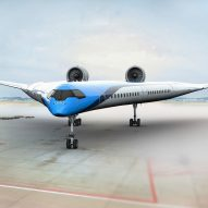 KLM and TU Delft aim to make aviation more sustainable with V-shaped aircraft
