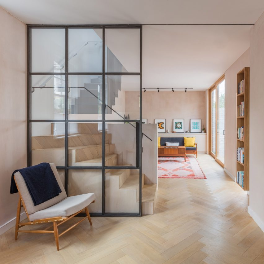 Vine Architecture Studio uses warm tones in renovation of Love Walk house in London