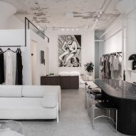 Lunya styles Williamsburg store like an apartment